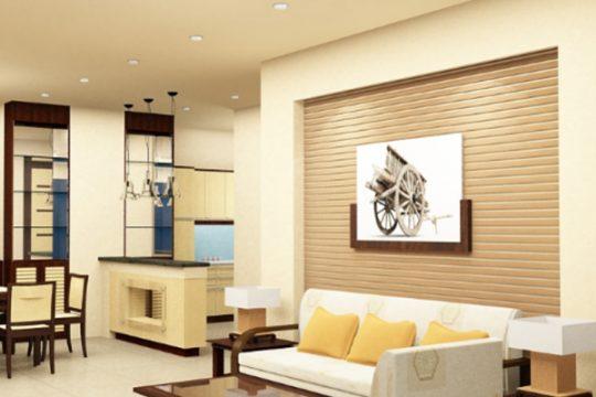 Nhà có diện tích nhỏ nên chọn màu sơn nội thất nào?